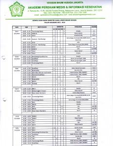 JADWAL UAS TA.2015-2016