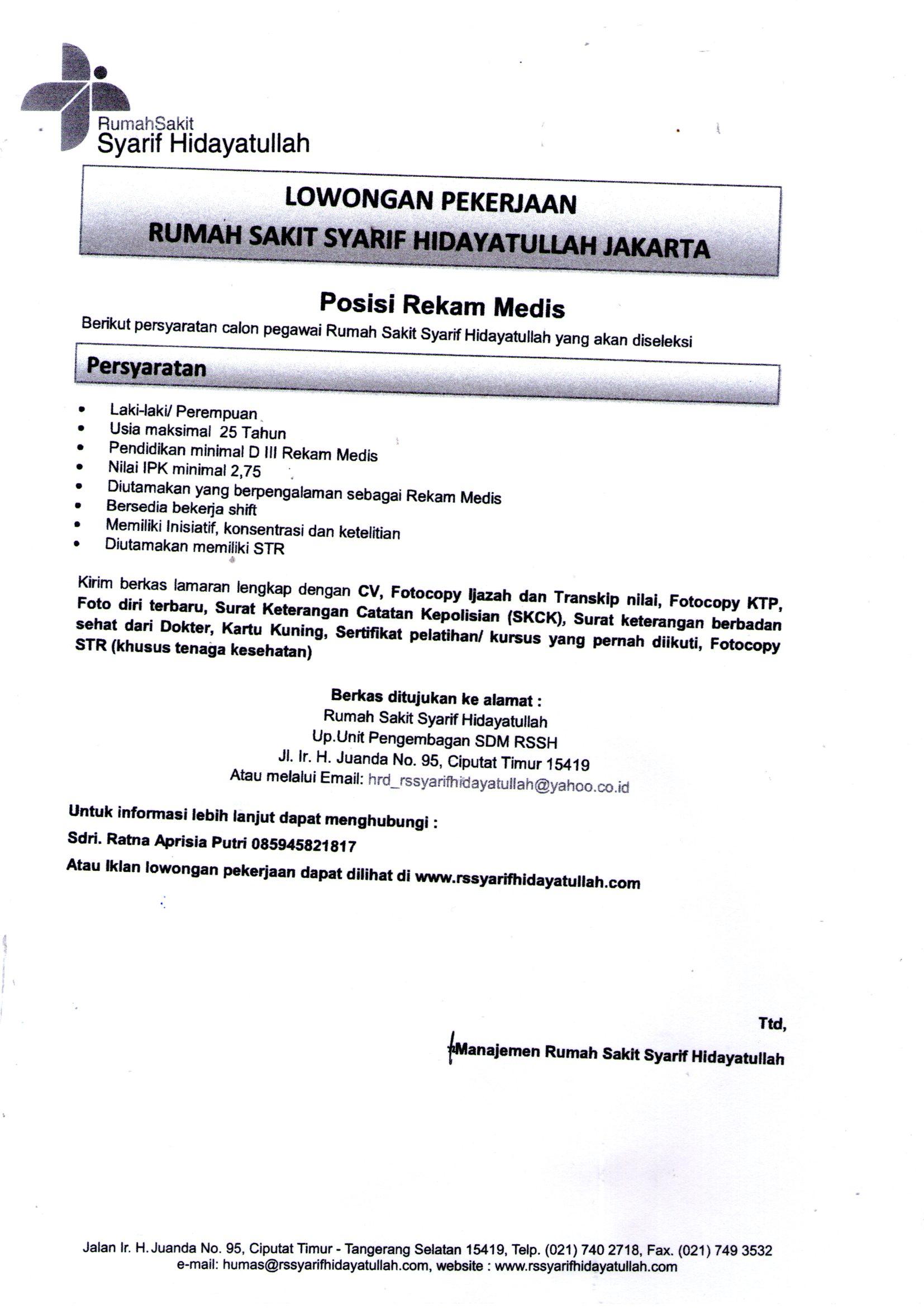 Surat Sakit Dokter Jakarta Timur Suratmenuhargacom